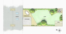 Design for a garden in South London
